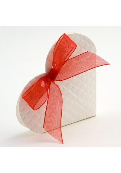 Trapunta Heart Favour Box-10pk