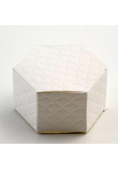 Trapunta Hexagonal Favour Box-10pk