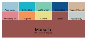 Marsala the colour for 2015